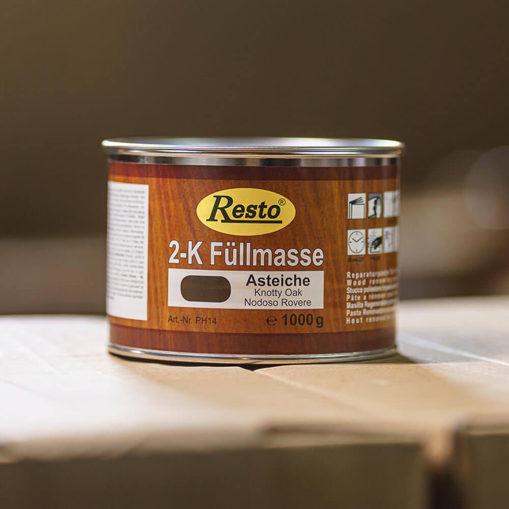 1 Kilogramm Dose Spachtelmasse 2k von Restokitt